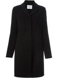Dondup Single Breasted Coat Black