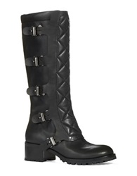 Marc By Marc Jacobs Buckle Riding Boots Black