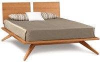Copeland Furniture Astrid Bed With 2 Adjustable Headboard Panels