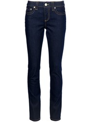 Red Valentino Skinny Fit Jeans Blue