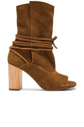 Urge Vista Booties Cognac