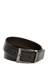 English Laundry Leather Dress Belt Black