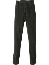 Massimo Alba Corduroy Trousers Green