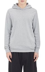 Paul Smith Haus Side Zip Hoodie Grey