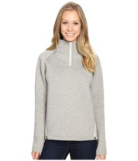 The North Face Neo Thermal Pullover Tnf Oatmeal Heather Women's Long Sleeve Pullover Beige