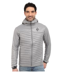 Black Diamond Hot Forge Hybrid Hoodie Nickel Men's Sweatshirt Beige