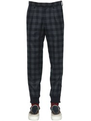 Kolor Plaid Wool Pants