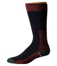 Dr. Martens Doc's Sock Navy Green Cherry Red Knee High Socks Shoes Black