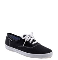 Women's Keds 'Champion' Canvas Sneaker Black Canvas