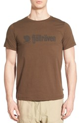 Fjall Raven Men's Fjallraven 'Retro' Organic Cotton Graphic T Shirt Tarmac