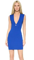 Versus Sleeveless Dress Royal Blue