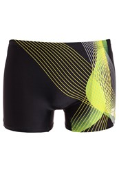Arena Viborg Swimming Shorts Black Yellow Star