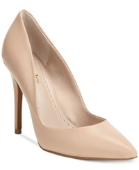 Charles By Charles David Pact Leather Pumps Women's Shoes Nude Leather