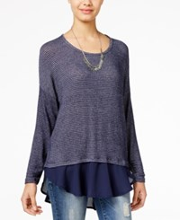American Rag Layered Look Sweater Only At Macy's
