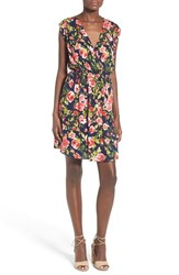 Women's Painted Threads Floral Print Surplice Dress