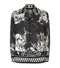 Dolce And Gabbana Old West Print Pyjama Shirt Male Grey