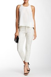 Proenza Schouler High Waisted Printed Jean White