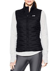 Under Armour Stand Collar Sleeveless Vest Black