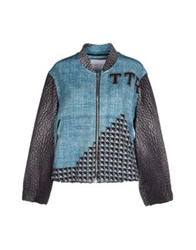 The Textile Rebels Jackets Azure