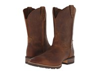 Ariat Hybrid Street Side Powder Brown Cowboy Boots