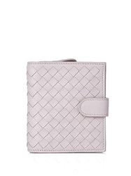 Bottega Veneta Intrecciato Small Leather Wallet Light Pink
