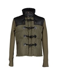 Cnc Costume National C'n'c' Costume National Coats And Jackets Down Jackets Men Military Green