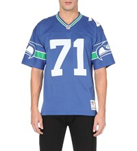 Mitchell And Ness Water Jones Mesh Jersey Top Royal Blue