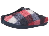 Bedroom Athletics Gibson Red Navy White Men's Slippers
