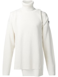 Y Project Layered Sweater Set White