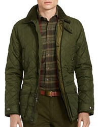 Polo Ralph Lauren Diamond Quilted Jacket Green