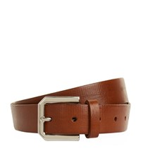 Brunello Cucinelli Classic Leather Belt Unisex Brown