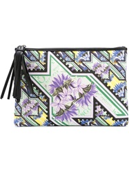 Mary Katrantzou 'Karo' Clutch White