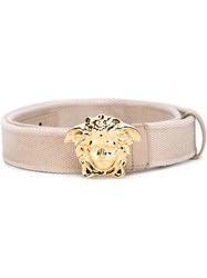 Versace Medusa Belt Metallic