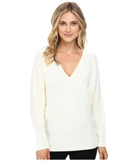 Trina Turk Kaelyn Sweater White Wash Women's Sweater
