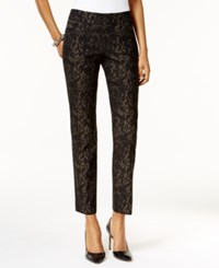 Jm Collection Printed Cropped Pants Only At Macy's Lizzy Skin