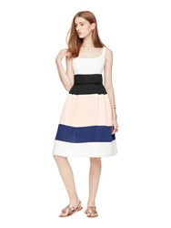 Kate Spade Colorblock Satin Faille Dress