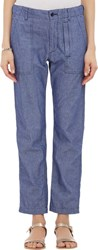 Engineered Garments Dungaree Trousers Blue