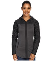 The North Face Spark Full Zip Hoodie Tnf Dark Grey Heather Tnf Black Women's Coat