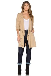 Bishop Young Military Lightweight Trench Beige