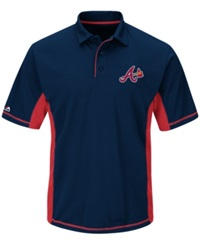 Majestic Men's Atlanta Braves Top Of The Inning Polo
