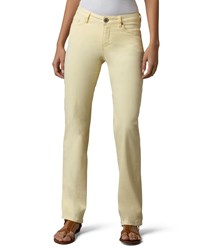 Christopher Blue Madison Straight Leg Twill Pants White