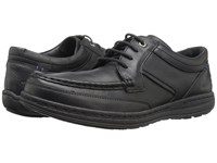 Hush Puppies Vines Victory Black Leather 1 Men's Shoes