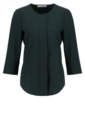 Ivy And Oak Blouse Bottle Green White