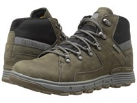 Caterpillar Stiction Hiker Waterproof Ice Dark Gull Grey Men's Lace Up Boots Gray