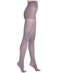 Hanes Matte Opaque Tights 0B406 Echo Grey