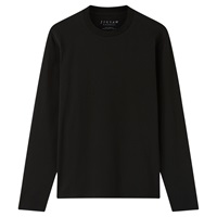 Jigsaw Casual Long Sleeve T Shirt Black