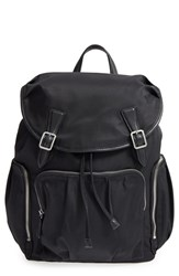 M Z Wallace Mz 'Cece' Bedford Nylon Backpack Black