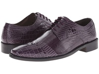 Stacy Adams Garibaldi Purple Men's Lace Up Cap Toe Shoes
