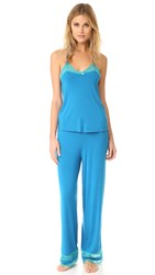 Honeydew Intimates Lazy Sunday Pj Set Azure
