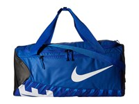Nike New Duffel Medium Game Royal Black White Duffel Bags Blue